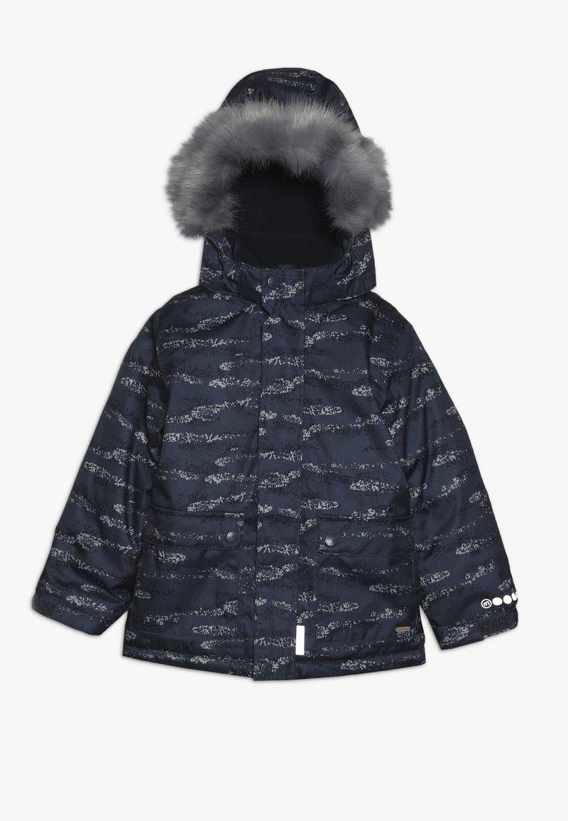 Minymo - SNOW JACKET HERRINGBONE - Veste d'hiver - blue