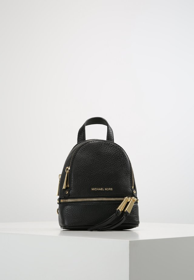 RHEA ZIP BACKPACK - Reppu - black