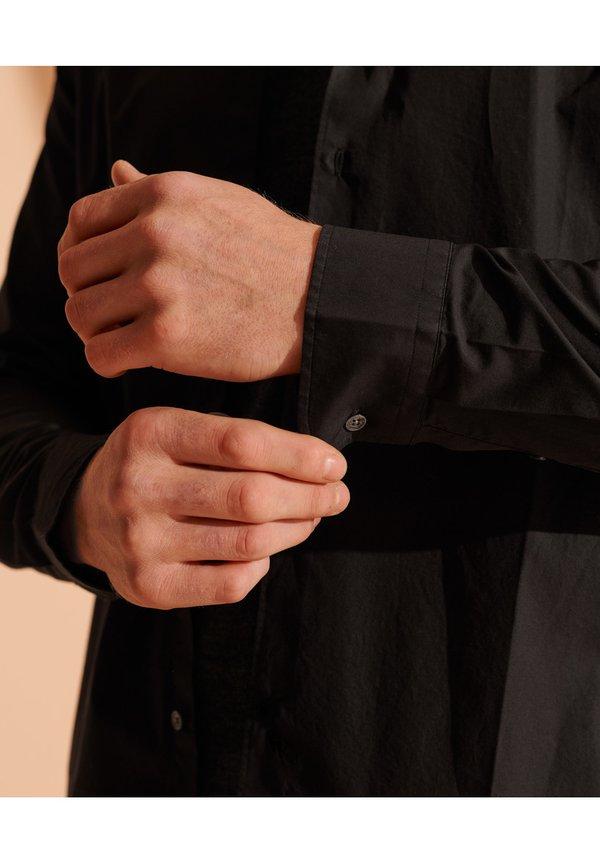 Superdry Koszula - black/czarny Odzież Męska CCQY
