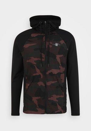 ADAPT CRUSHED ZIP THROUGH  - Zip-up sweatshirt - khaki