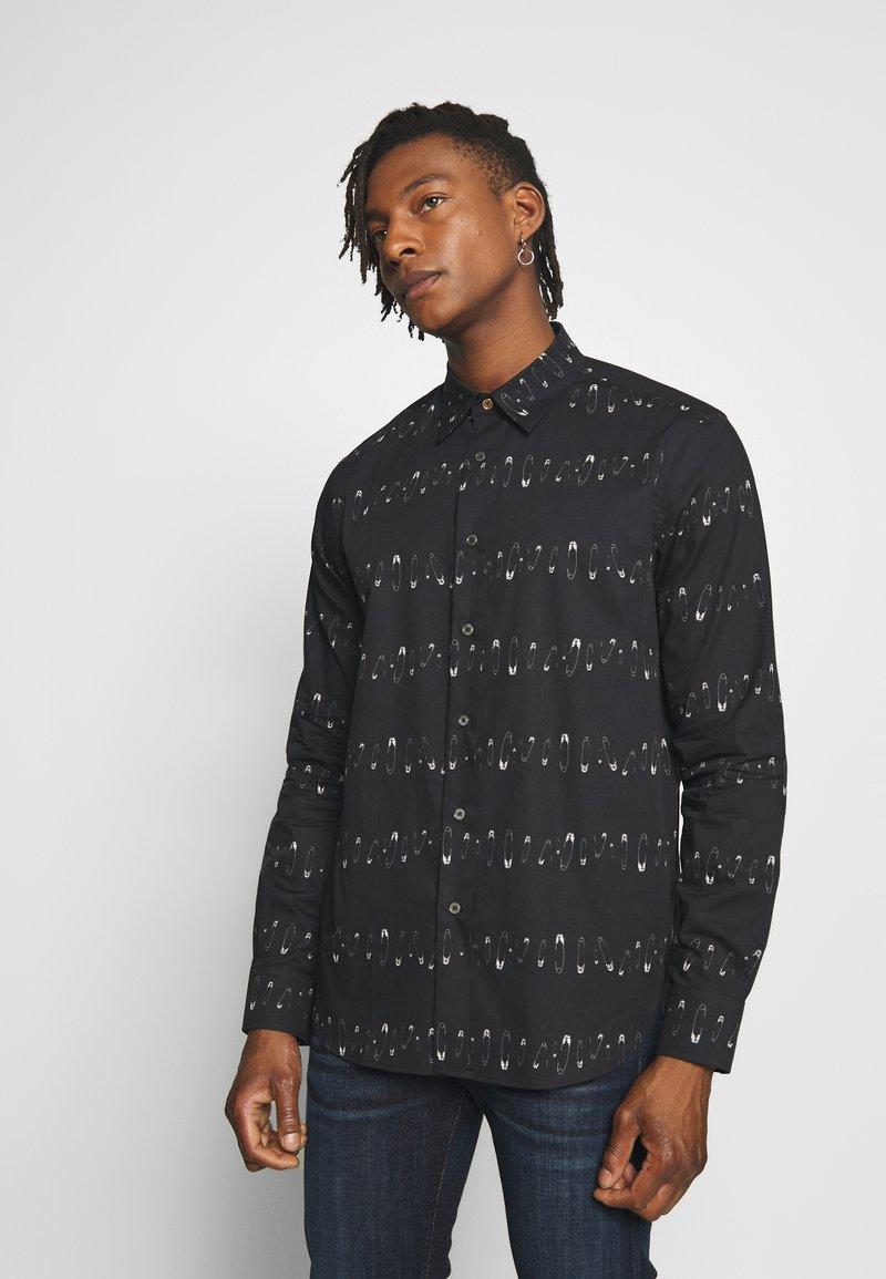 Paul Smith - GENTS TAILORED SHIRT - Overhemd - black