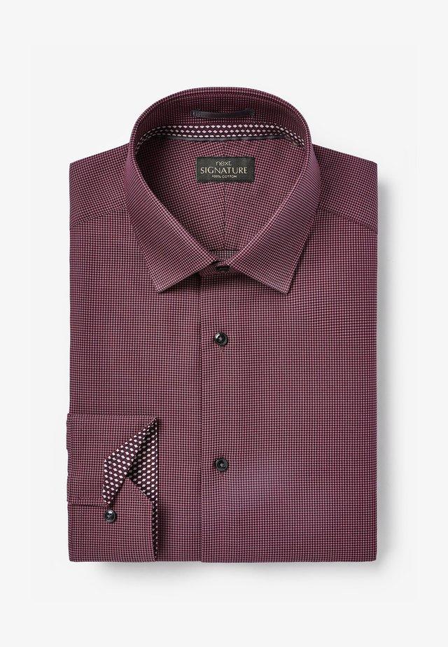 SIGNATURE - Formální košile - red