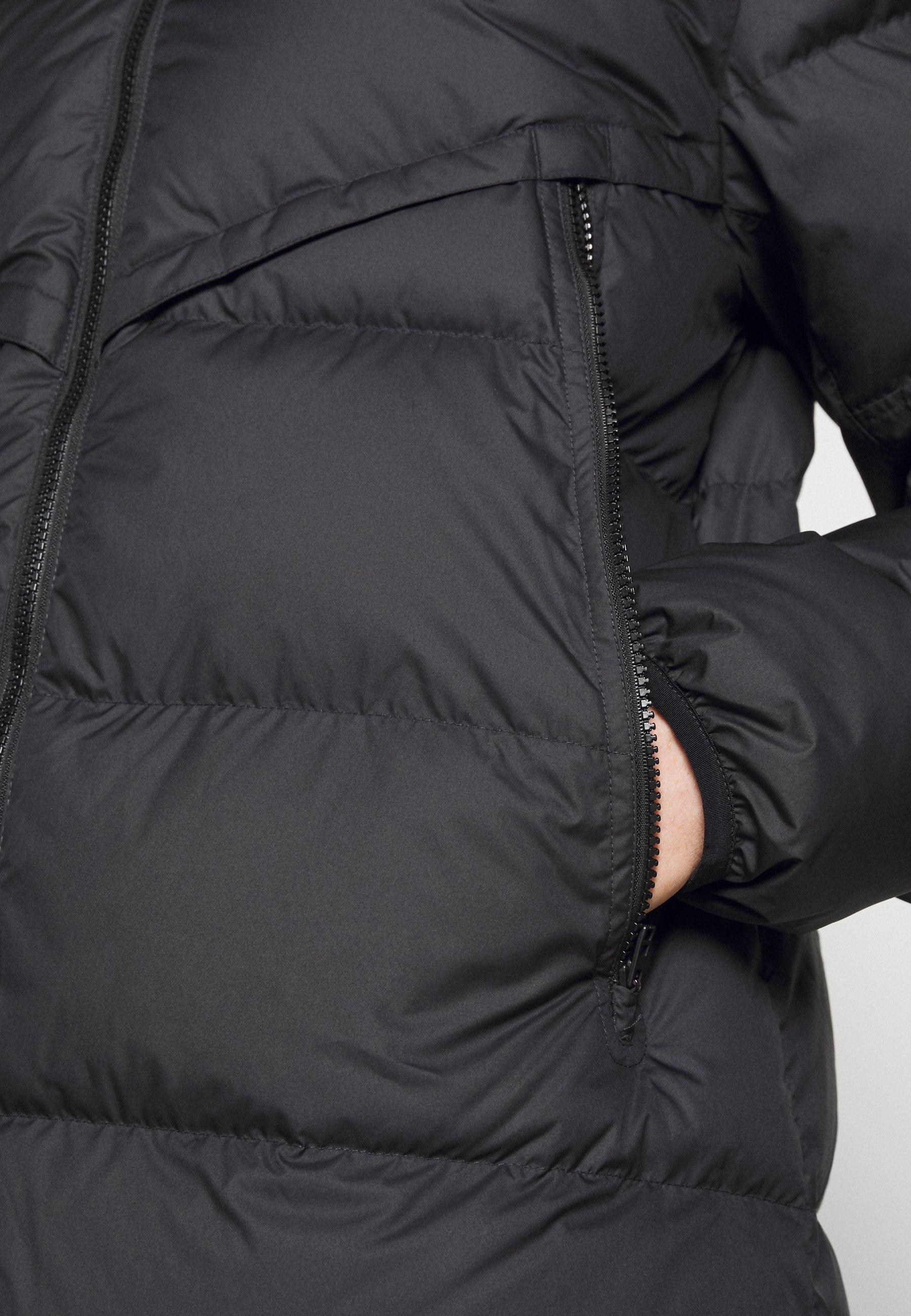 Gewatteerde jas black