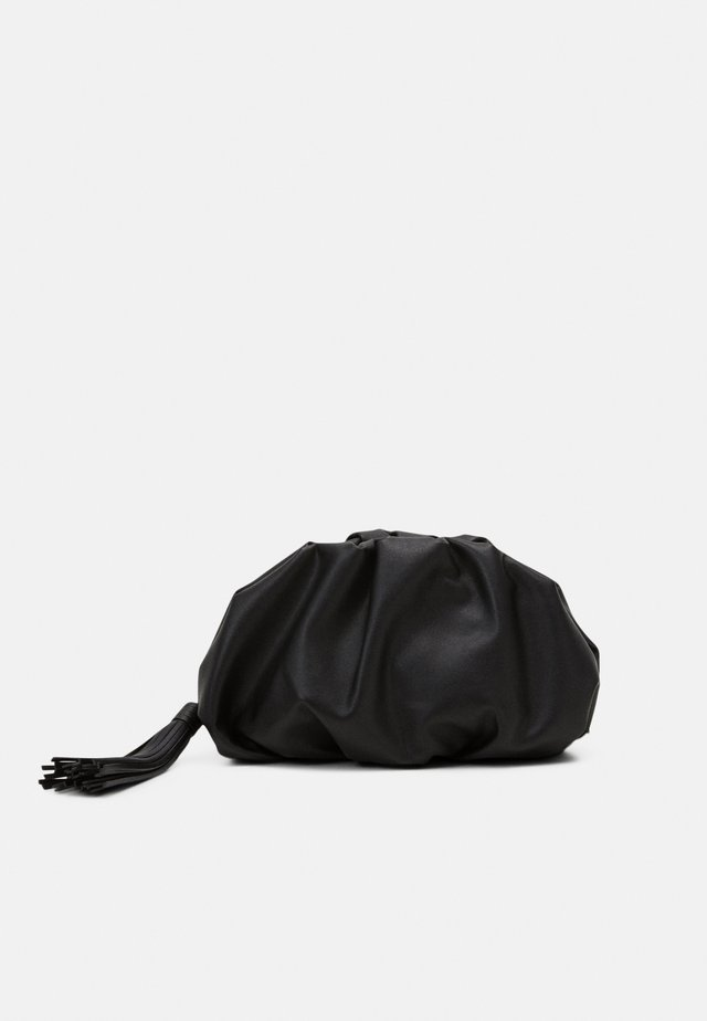 RUCHED - Pochette - black