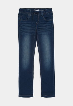 NKMROBIN - Relaxed fit jeans - dark blue denim