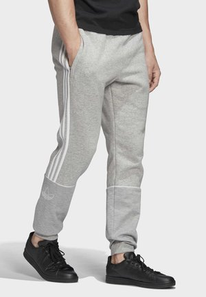 OUTLINE JOGGERS - Tracksuit bottoms - grey