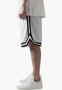 Urban Classics - STRIPES - Tracksuit bottoms - white, black - 3