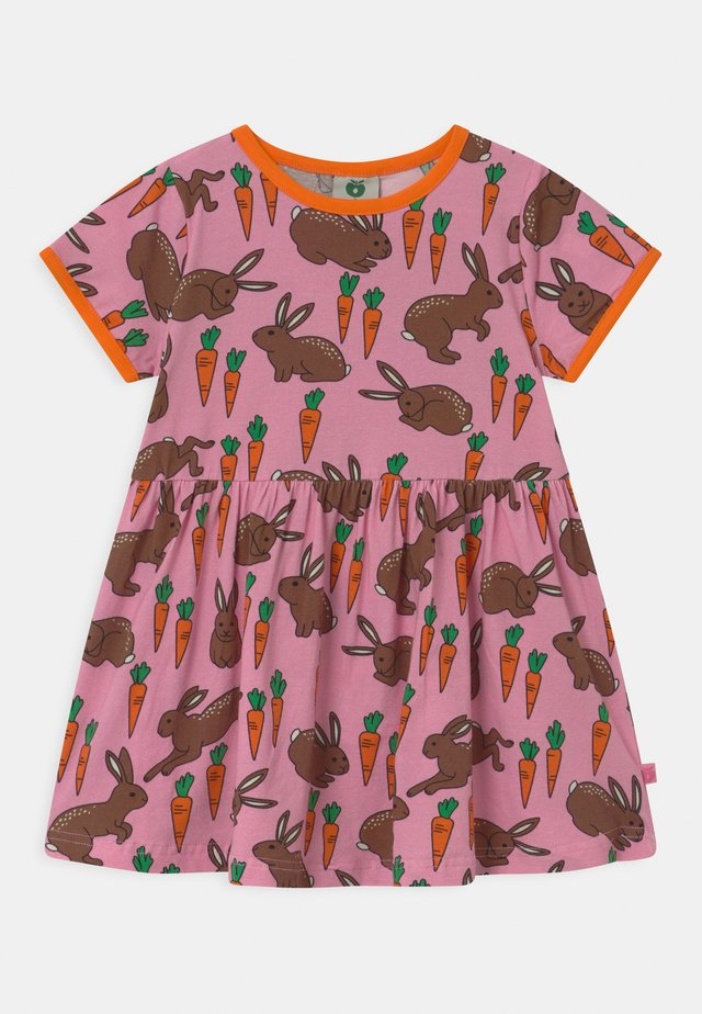 HARE CARROT - Jerseyklänning - sea pink