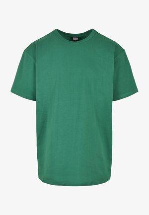 Jednoduché triko - junglegreen