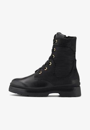 WINDPEAK - Lace-up ankle boots - schwarz