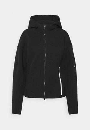 ZNE - Zip-up sweatshirt - black