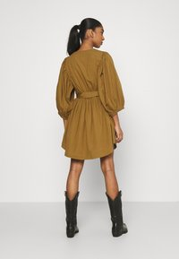 YAS - YASERMI DRESS - Day dress - butternut - 2