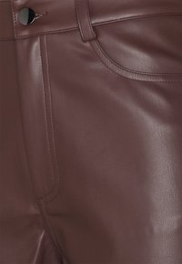 Nly by Nelly - HIGH WAIST PANTS - Broek - brown - 2