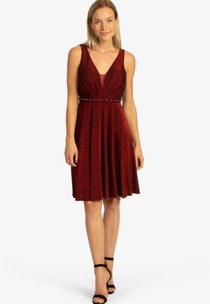 Cocktail dress / Party dress - dunkelrot