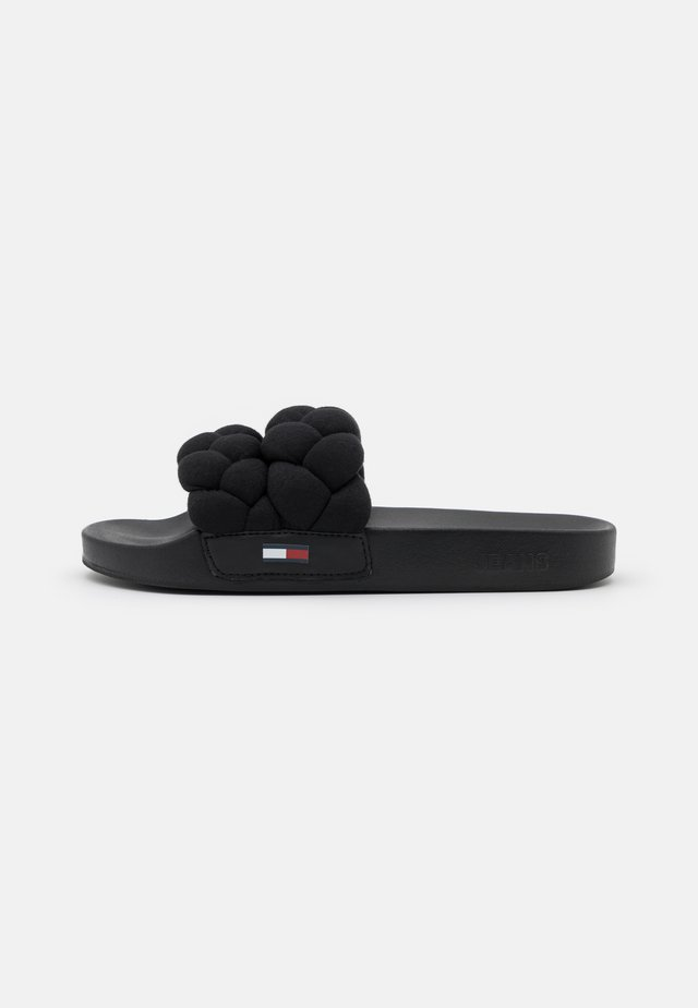 STRAP POOL SLIDE - Klapki - black