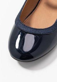 Friboo - Ballerinasko m/ rem - dark blue - 2