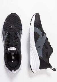 Puma - HYBRID FUEGO - Neutrální běžecké boty - black/white - 1