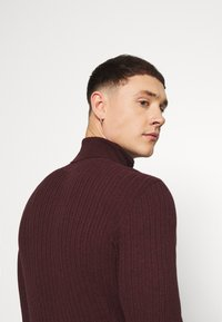 Zign - Jumper - mottled bordeaux - 3