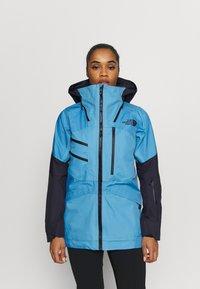 The North Face - BRIGANDINE FUTURELIGHT JACKET - Hardshell jacket - ether light blue/tnf black - 0