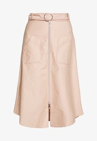 Mykke Hofmann - RONA - A-line skirt - nude denim - 4