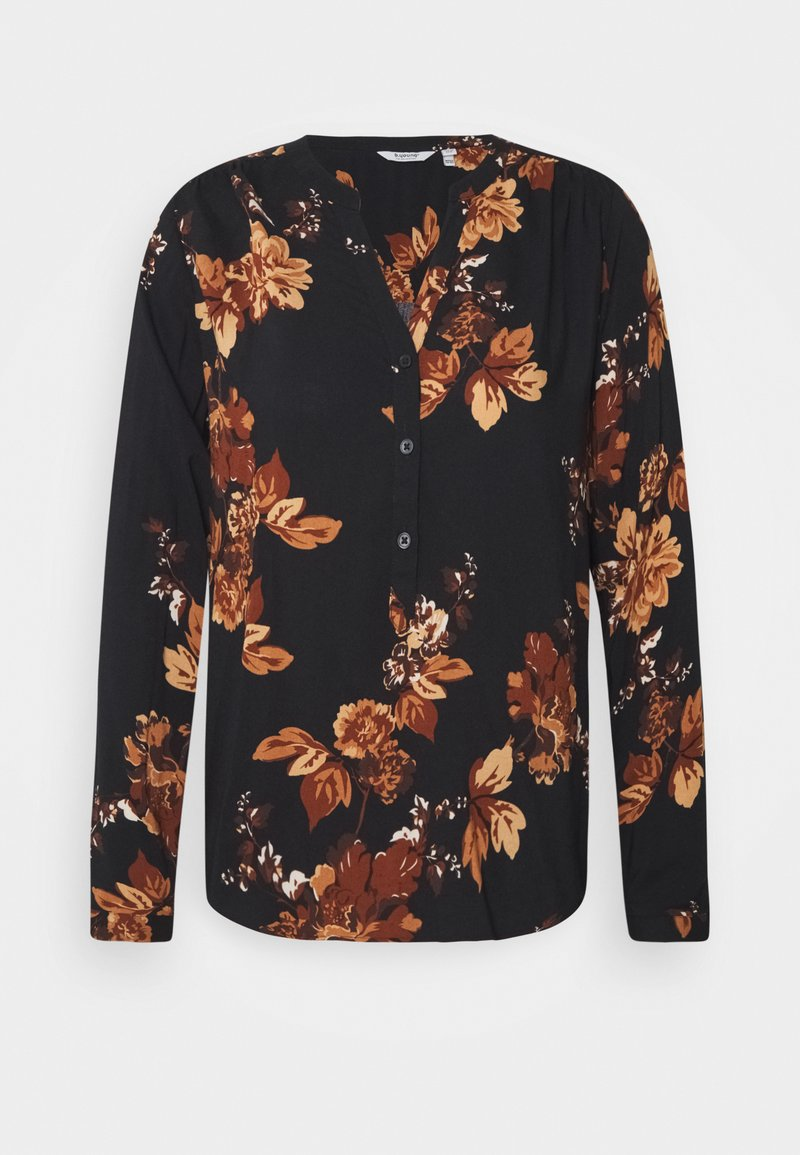 b.young - HENNA NECK BLOUSE - Blouse - tortoise shell mix