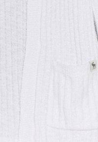 Abercrombie & Fitch - LONG - Kardigan - white - 2