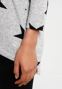 ONLY - ONLELCOS - Jumper - light grey melange/black - 4