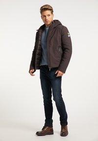 Mo - Winter jacket - espresso - 1