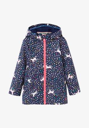 Waterproof jacket - blaues juwel