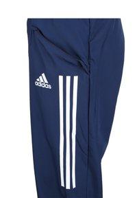 adidas Performance - CONDIVO 20 PRE-MATCH PANTS - Träningsbyxor - navy blue / white - 2