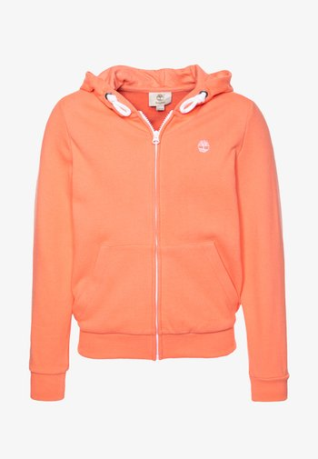 HOODED  - Zip-up sweatshirt - apricot
