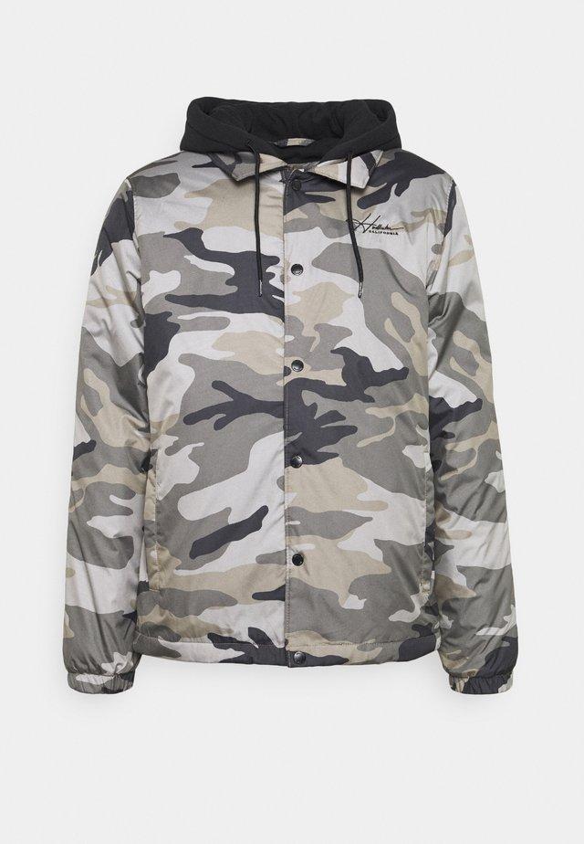 Lehká bunda - khaki/beige/grey