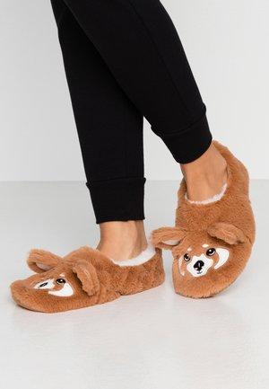 PABLO - Slippers - marron