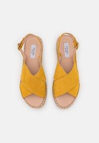 Steven New York - MARLIE - Platform sandals - yellow - 5