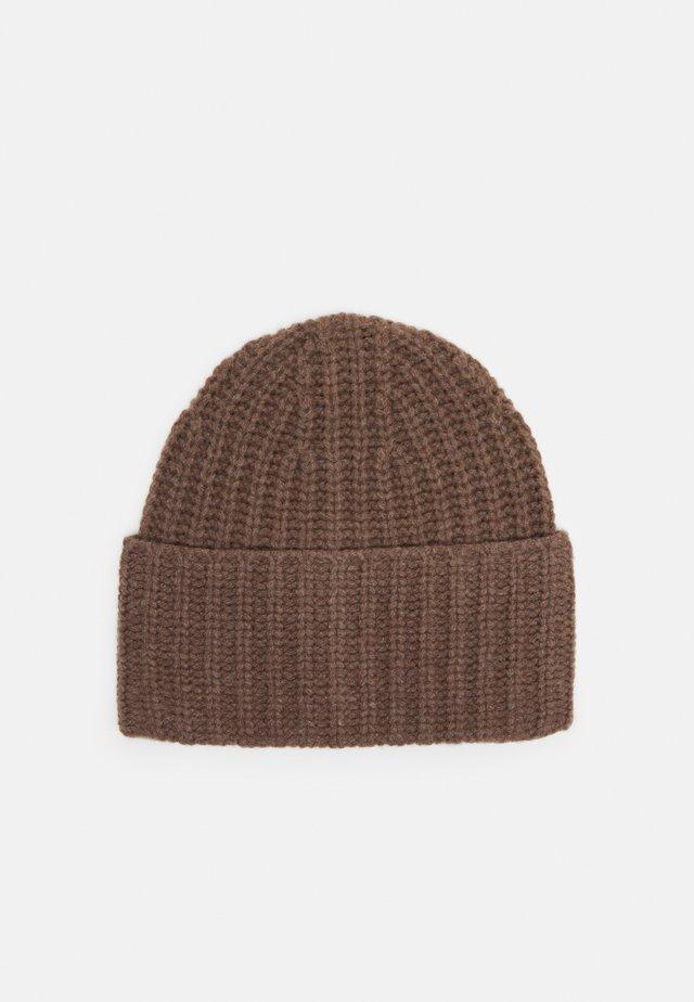 CORINNE HAT - Mütze - dark taupe