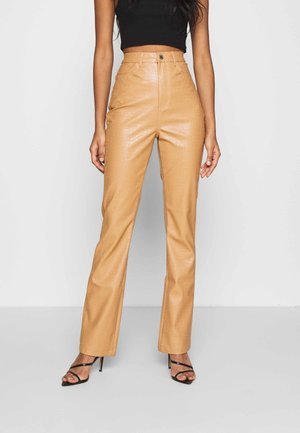 TROUSER - Trousers - tan