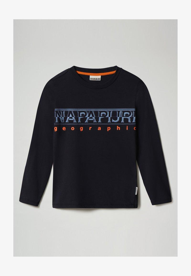Napapijri - SADYR LS - Long sleeved top - blu marine
