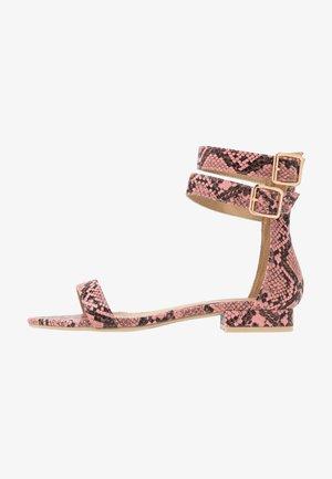 TRINITY - Sandals - pink