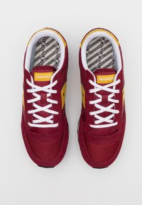 Saucony - JAZZ ORIGINAL VINTAGE - Baskets basses - burgundy/mustard