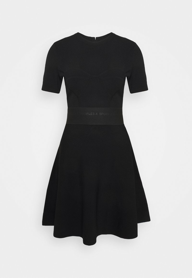 The Kooples - ROBE - Jumper dress - black