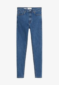Mango - MIT HOHEM BUND NOA - Jeans Skinny Fit - mittelblau - 4