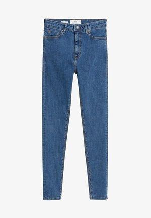 MIT HOHEM BUND NOA - Jeans Skinny Fit - mittelblau