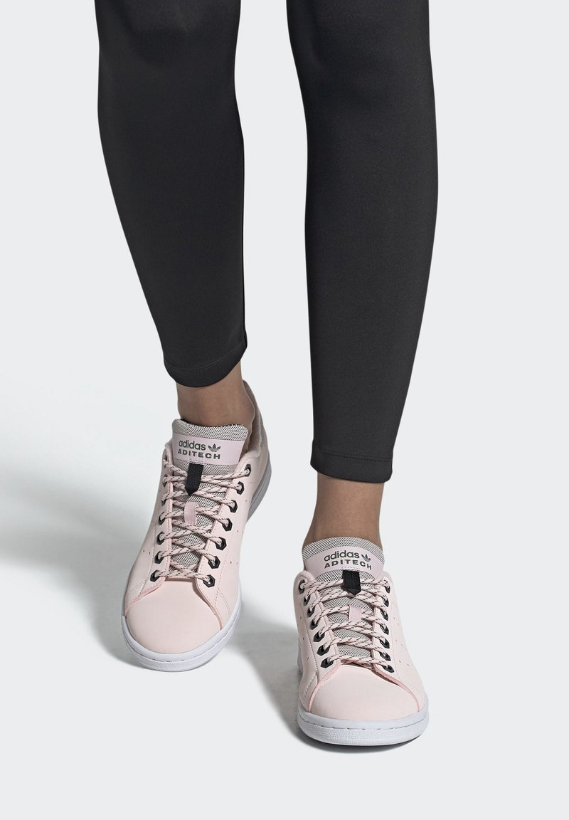 adidas Originals - STAN SMITH SHOES - Trainers - pink