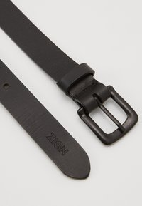 Zign - UNISEX LEATHER - Pásek - black - 1