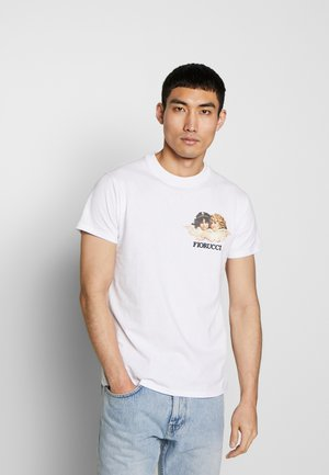 NEW ANGELS TEE - Print T-shirt - white