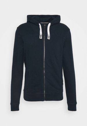 veste en sweat zippée - sky captain blue