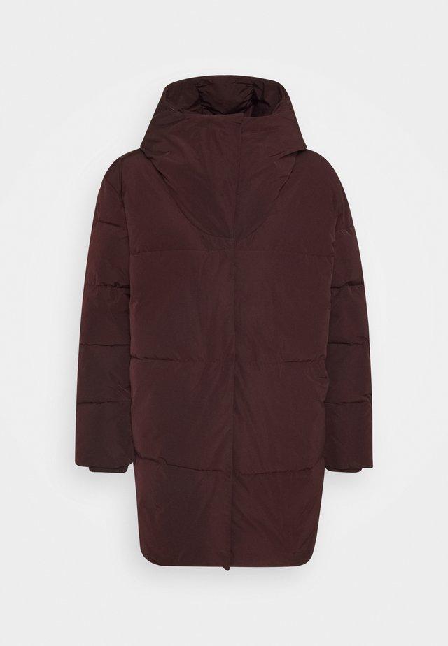 PATH WOMAN COAT - Cappotto invernale - aubergine