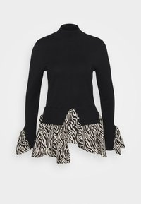New Look - ZEBRA   - Jumper - black - 0