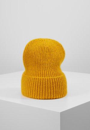 JADIA MIX BEANIE - Čepice - golden yellow