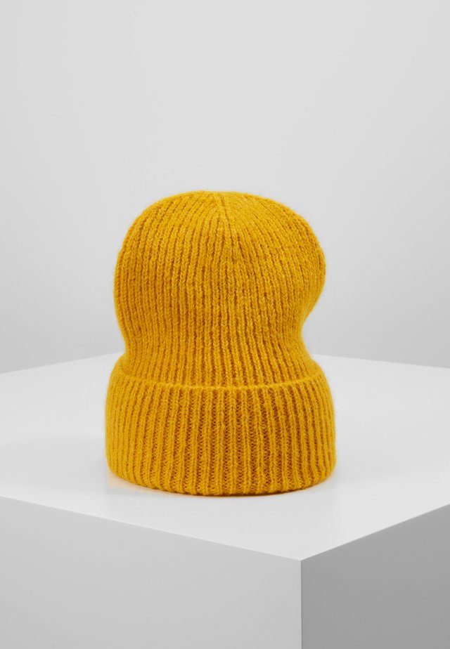 JADIA MIX BEANIE - Czapka - golden yellow